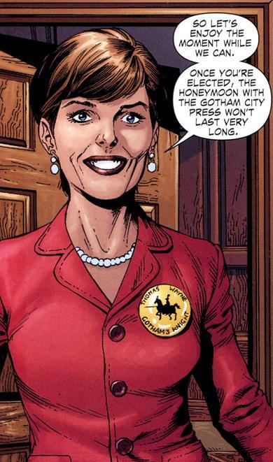 Martha Arkham Earth 1 Dc Database Fandom Powered By