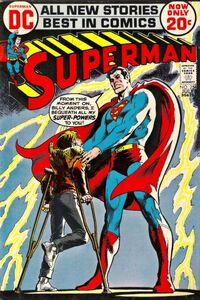 Superman trusts Billy Anders to be the living receptacle of his powers.