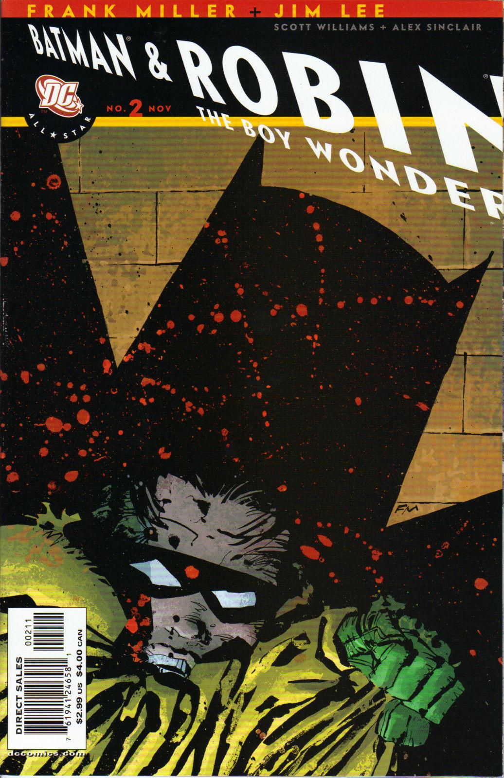 All Star Batman and Robin, the Boy Wonder/Covers | DC