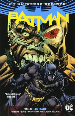 Cover for the Batman: I Am Bane Trade Paperback