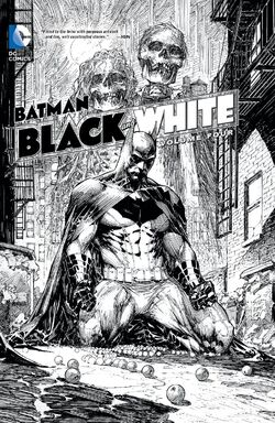 Cover for the Batman Black and White Vol. 4 Trade Paperback