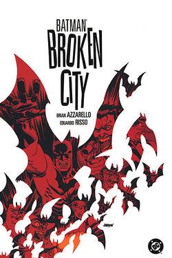 Cover for the Batman: Broken City Trade Paperback