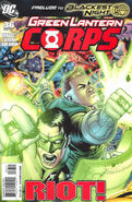 Green Lantern Corps Vol 2 36A