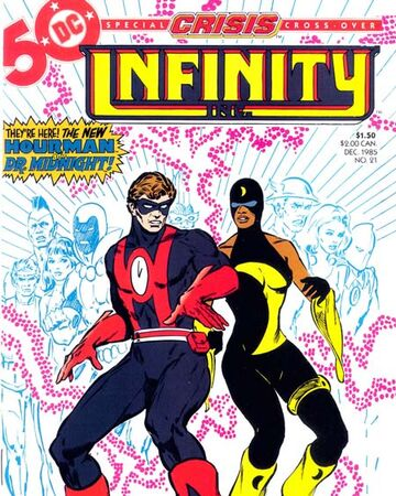 Infinity Inc. Vol 1 21 | DC Database | Fandom