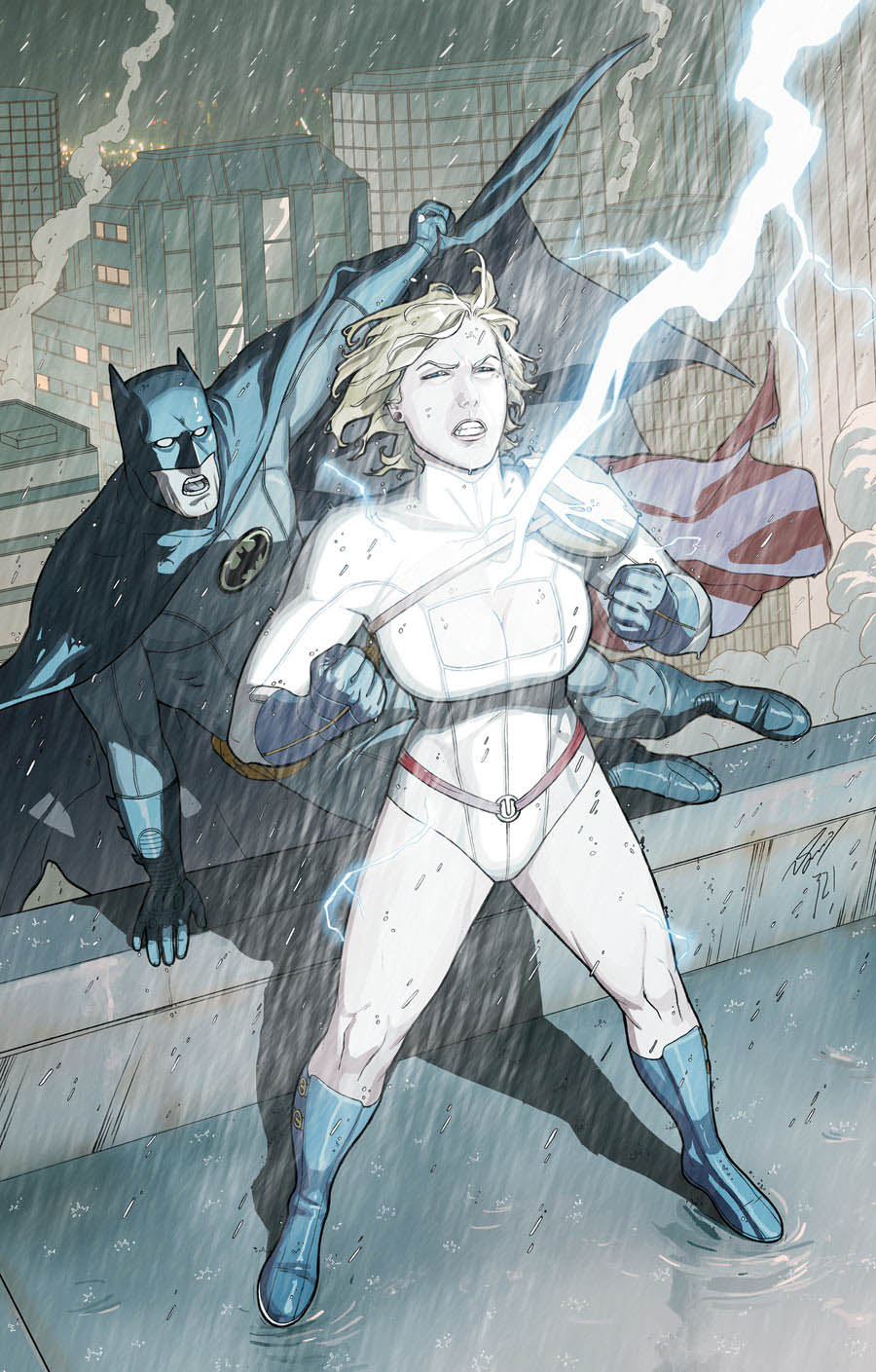Normal Lex Luthor Power Girl