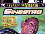Sinestro: Year of the Villain Vol 1 1