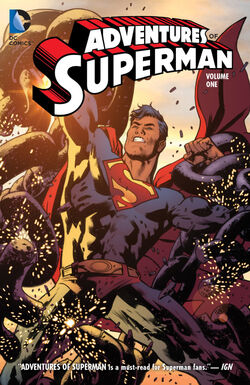 Cover for the Adventures of Superman Vol. 1 Trade Paperback