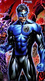 Blue Lantern Kyle Rayner 001