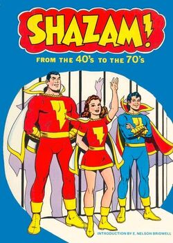 Cover for the Shazam: From the 40's to the 70's Trade Paperback
