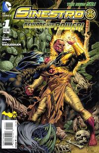 Sinestro Vol 1 1