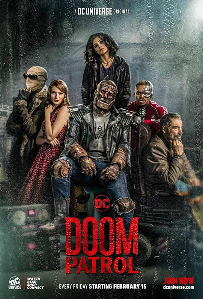 Doom Patrol Tv Series Dc Database Fandom