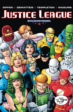 Cover for the Justice League International: Volume Four Trade Paperback