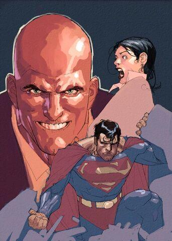 File:Superman Birthright Vol 1 5 Textless.jpg