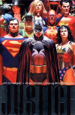 Cover for the Justice Vol. 1 Trade Paperback