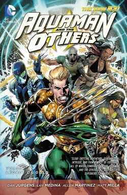 Cover for the Aquaman and the Others: Legacy of Gold Trade Paperback
