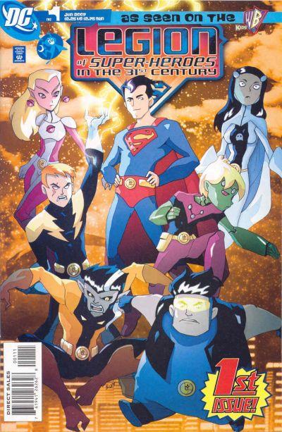 legion of superheroes in the 31st century vol 1 dc