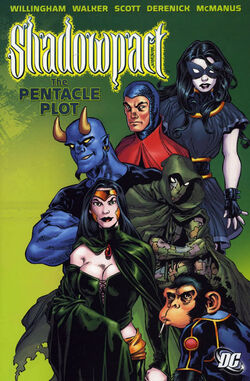 Cover for the Shadowpact: Pentacle Plot Trade Paperback