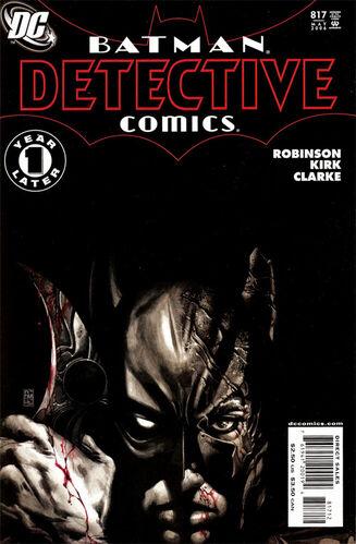 Bildergebnis für Detective Comics(Vol.1) #817