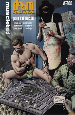 Cover for the Doom Patrol: Musclebound Trade Paperback