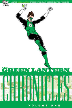 Cover for the The Green Lantern Chronicles Vol. 1 Trade Paperback