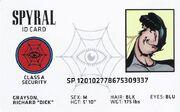 Spyral ID Card