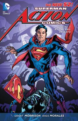Cover for the Action Comics: At the End of Days Trade Paperback