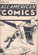 All-American Comics Vol 1 1 Ashcan