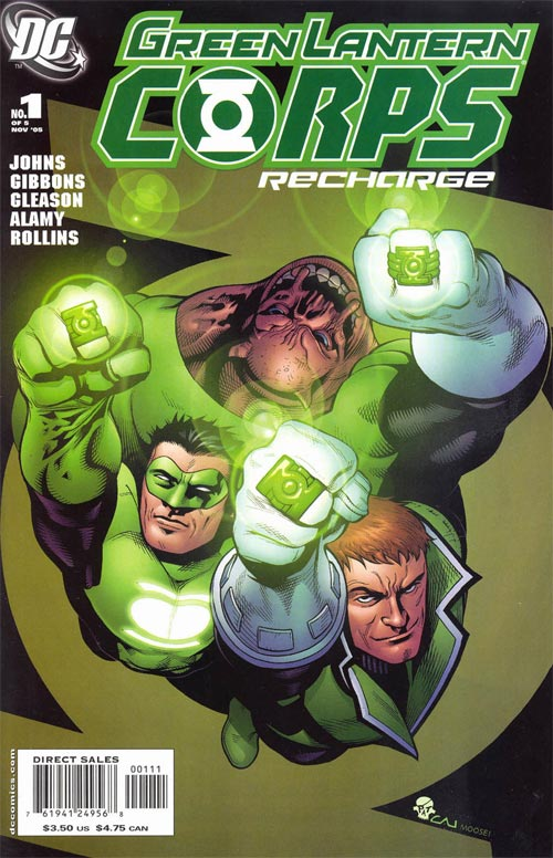 green lantern corps recharge vol 1 1 dc database fandom powered