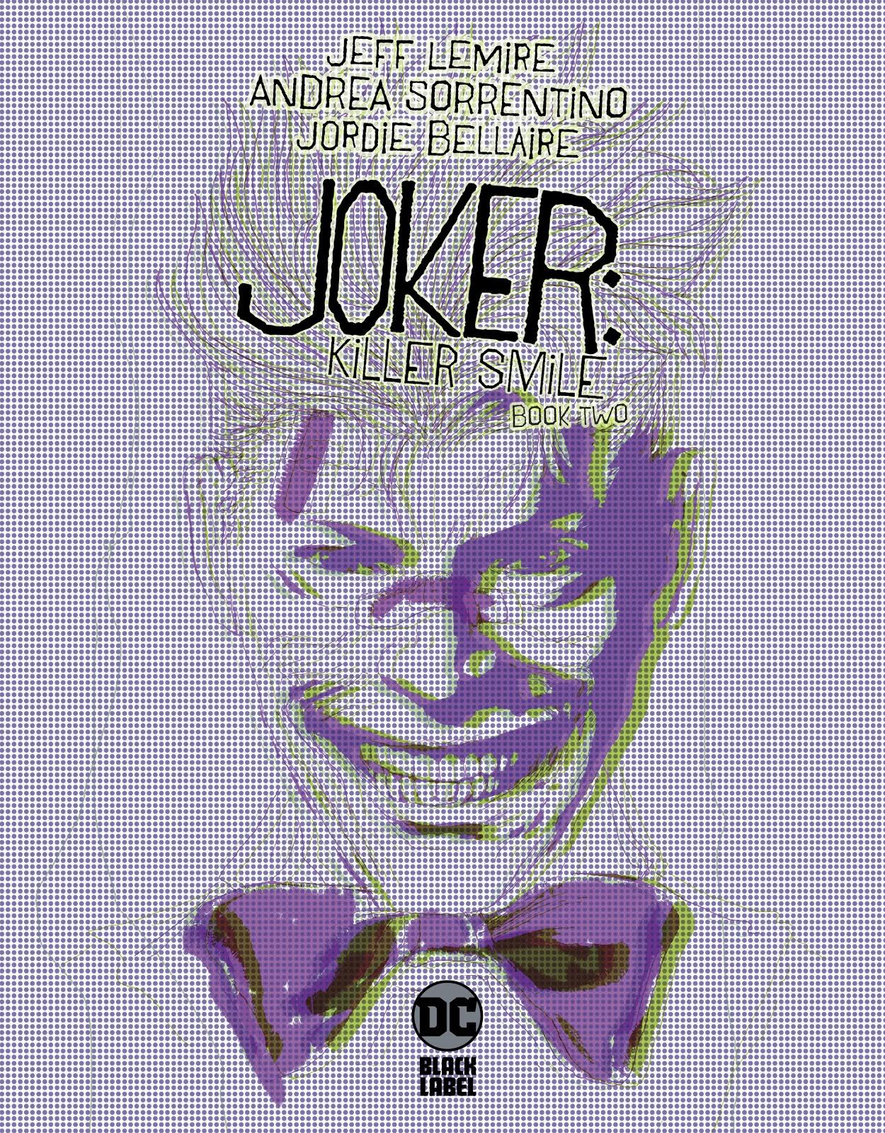 JOKER KILLER SMILE 2019 DC #1 VARIANT KAARE ANDREWS