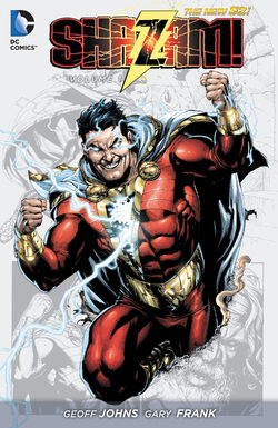 Cover for the Shazam! Vol. 1 Trade Paperback