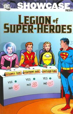 Cover for the Showcase Presents: Legion of Super-Heroes Vol. 1 Trade Paperback