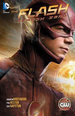 Cover for the The Flash: Season Zero Trade Paperback