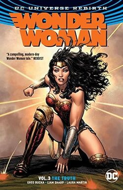 Cover for the Wonder Woman: The Truth Trade Paperback
