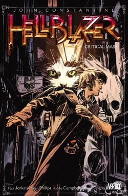 Cover for the Hellblazer: Critical Mass Trade Paperback