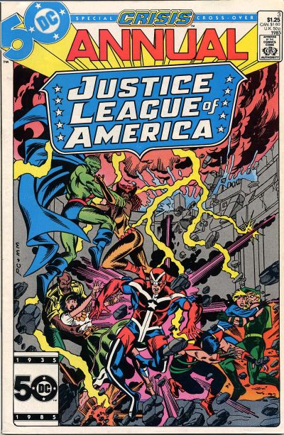 JUSTICE LEAGUE OF AMERICA Complete Comics Collection VOL.1 261 issues Annuals