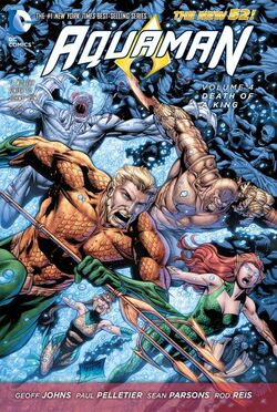 Cover for the Aquaman: Death of a King Trade Paperback
