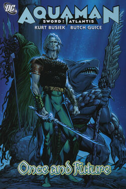 Cover for the Aquaman: Once and Future Trade Paperback