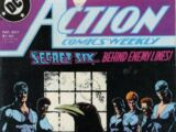 Action Comics Vol 1 607