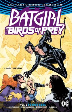 Cover for the Batgirl and the Birds of Prey: Source Code Trade Paperback