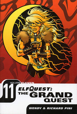 Cover for the ElfQuest: The Grand Quest Vol. 11 Trade Paperback