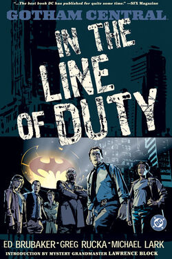 Cover for the Gotham Central Vol 1: In the Line of Duty Trade Paperback