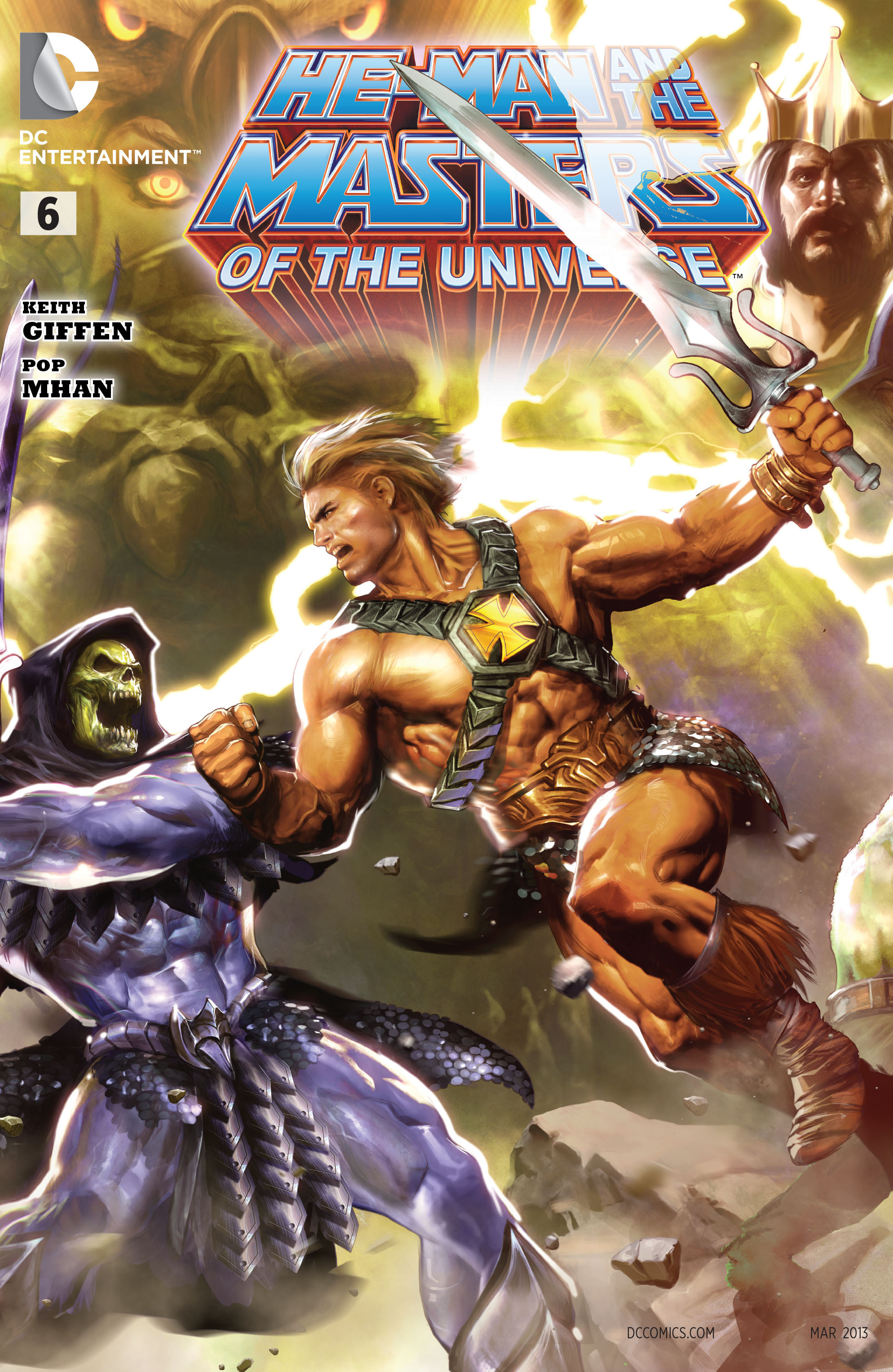 He Man And The Masters Of The Universe Vol 1 6 Dc