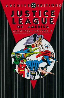 Cover for the Justice League of America Archives Vol. 6 Trade Paperback