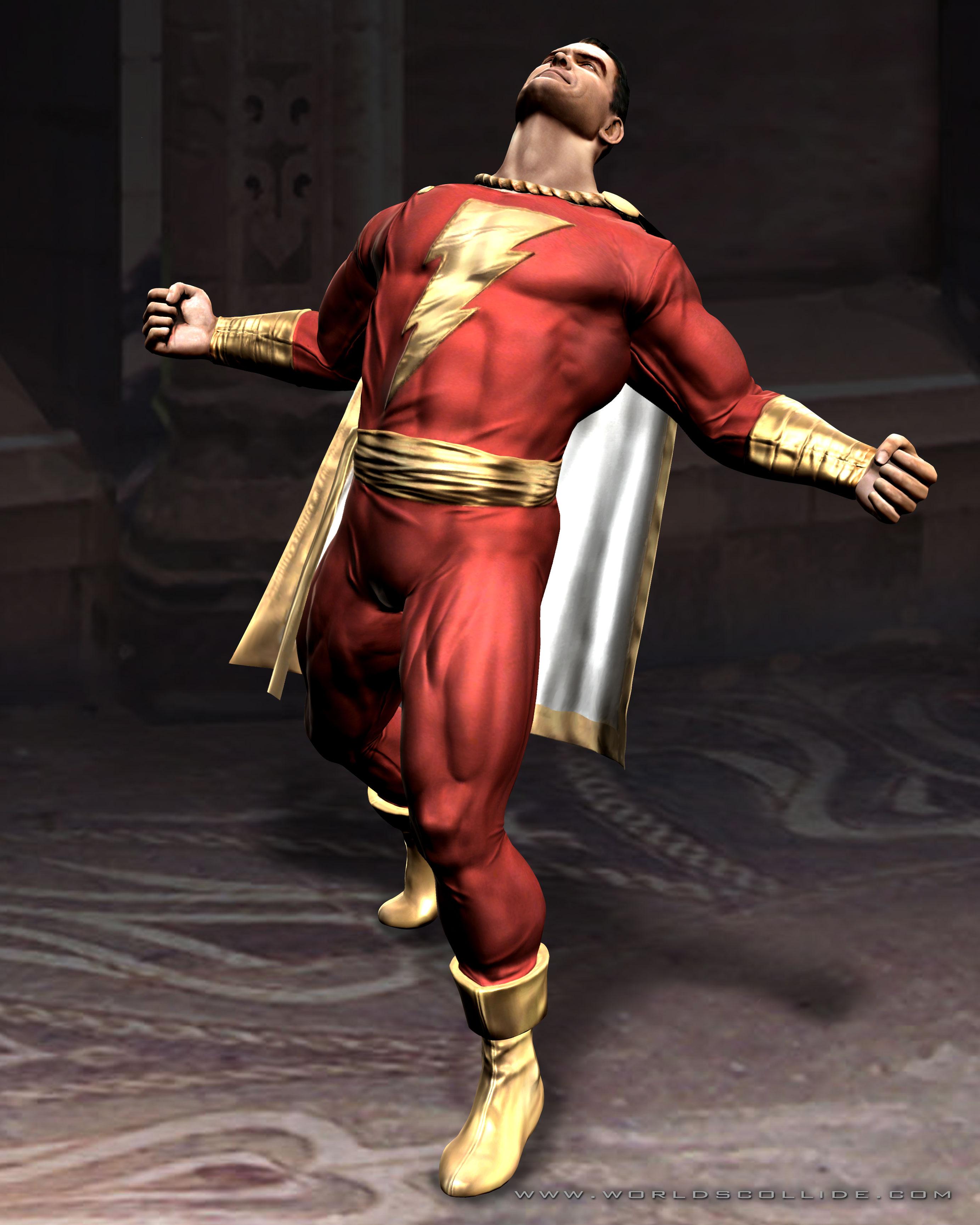 William Batson Mortal Kombat Vs DC Universe