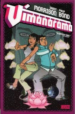 Cover for the Vimanarama Trade Paperback
