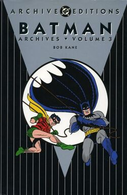 Cover for the Batman Archives Vol 3 Trade Paperback