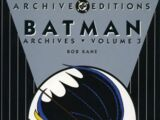Batman Archives Vol 3 (Collected)