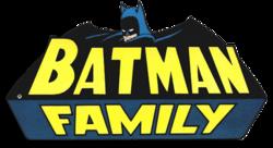 Batman Family Vol 1 Logo