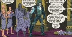 Lobo reveals Guru Chud's true nature.