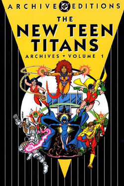 Cover for the New Teen Titans Archives Vol 1 Trade Paperback